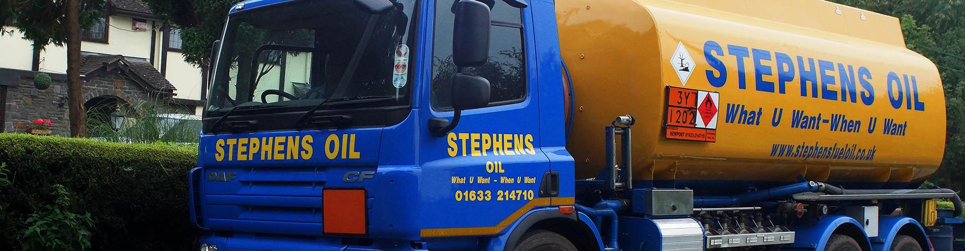 Stephens Fuel Oil truck